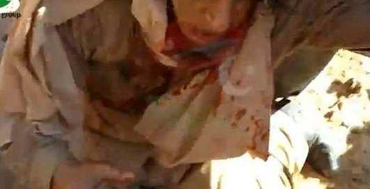 Опубликовано последнее видео Каддафи