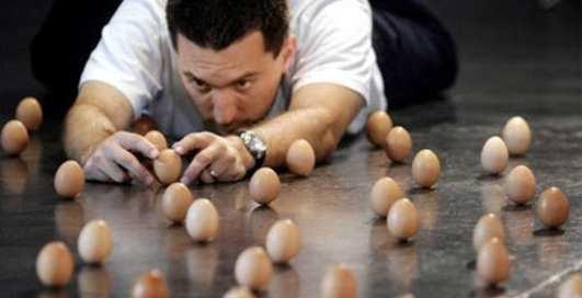 Какие яйца нужны Чемпиону мира?