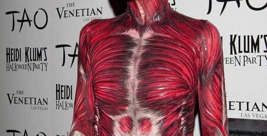Глум от Хайди Клум: Хэллоуин без кожи