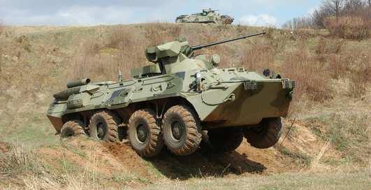 Новейшие броневики идут на Чечню