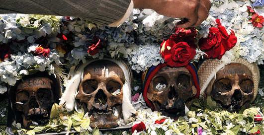 Милые кости: черепа язычников Боливии