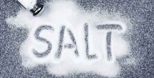 Сладкая правда: соль тебе не повредит!