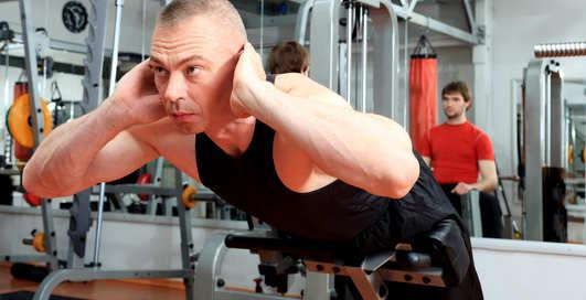 Как накачать спину без железа?