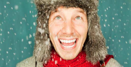 Мужская кожа: как защитить от мороза