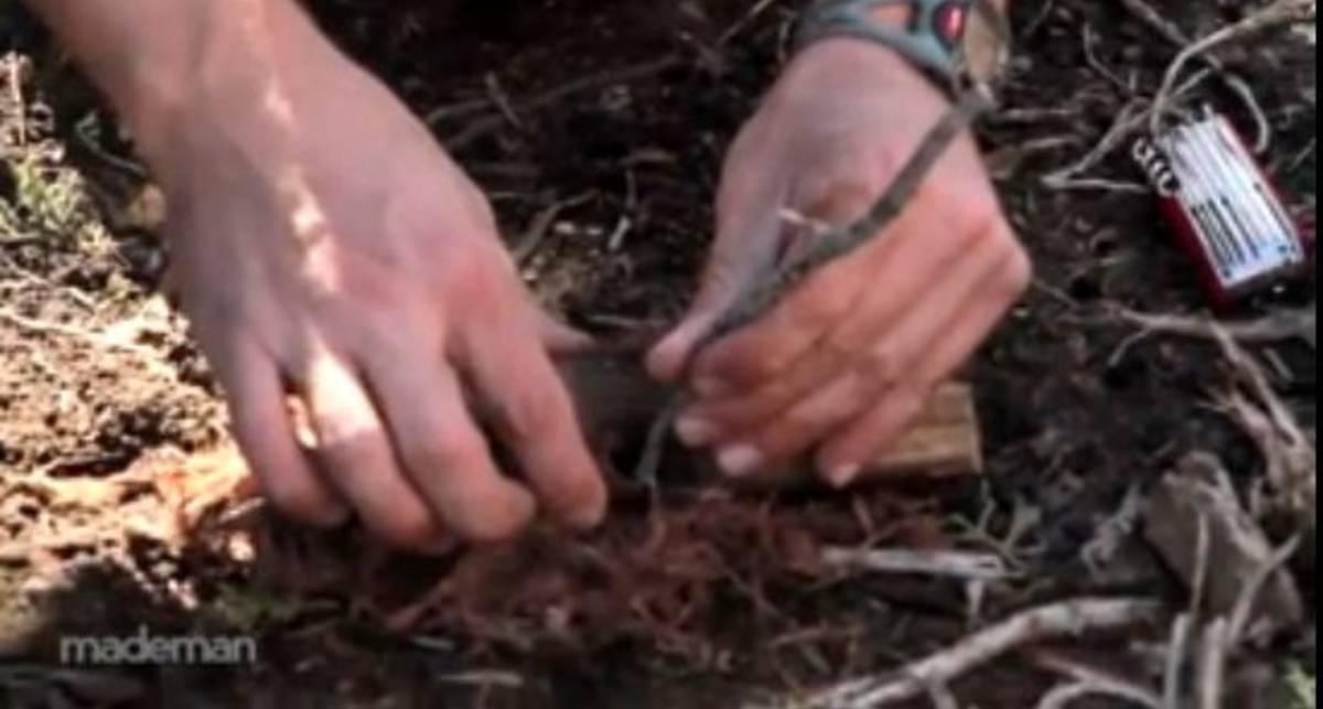 По-мужски: разожги костер без спичек