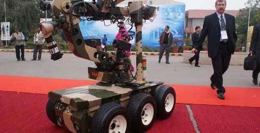 Робот в тюрбане: убийца из Индии