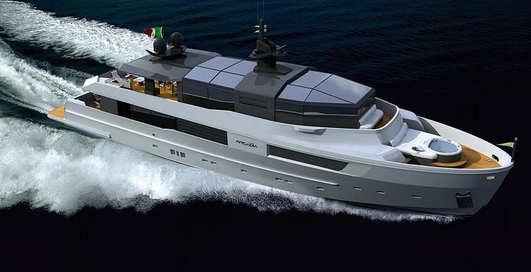 M'Ocean: яхта на солнечных батареях
