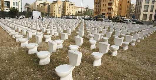 Планета туалетов: 10 самых странных писсуаров