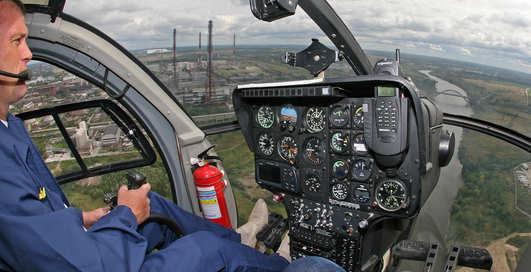Вертолет 007: шпион подкрался незаметно