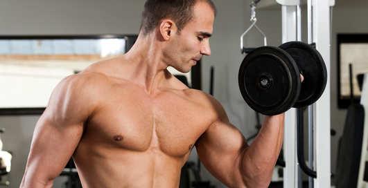 Как накачать мышцы дома и без штанги