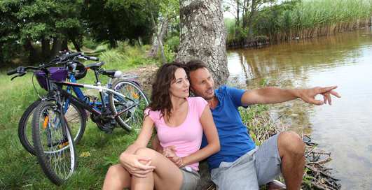 От велосипеда у мужчин растет женская грудь