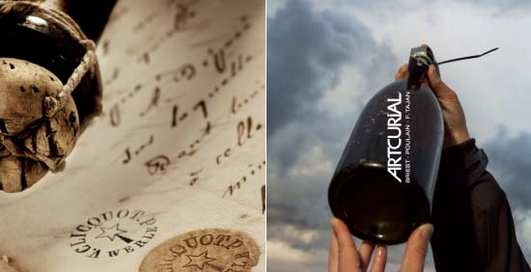 Вино с погибшего корабля снова продается