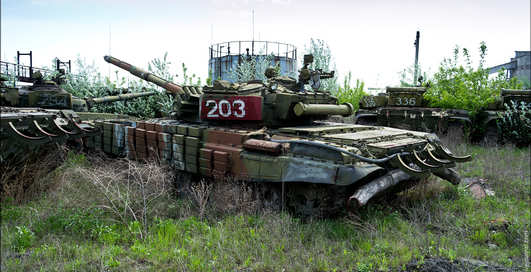 Где кончают танки: завод в Харькове