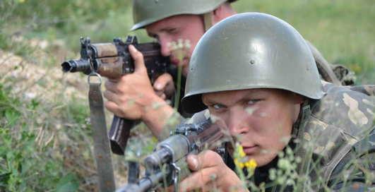 Морпехи Крыма - в боевой готовности