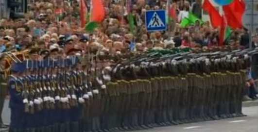 Бойцы Лукашенко удивили эффектом домино