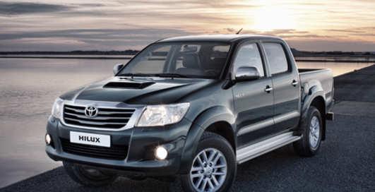 В Украину едет легендарный пикап Toyota