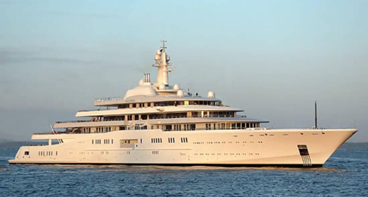 ТОП-10 самых больших яхт в мире