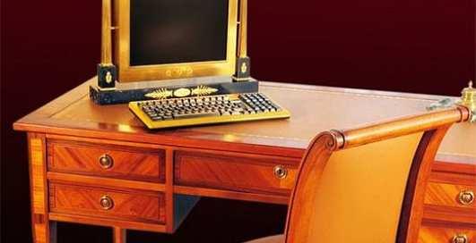 По-королевски: создан золотой компьютер