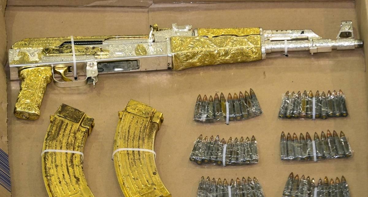 Золотой ствол: АК-47 для наркобарона