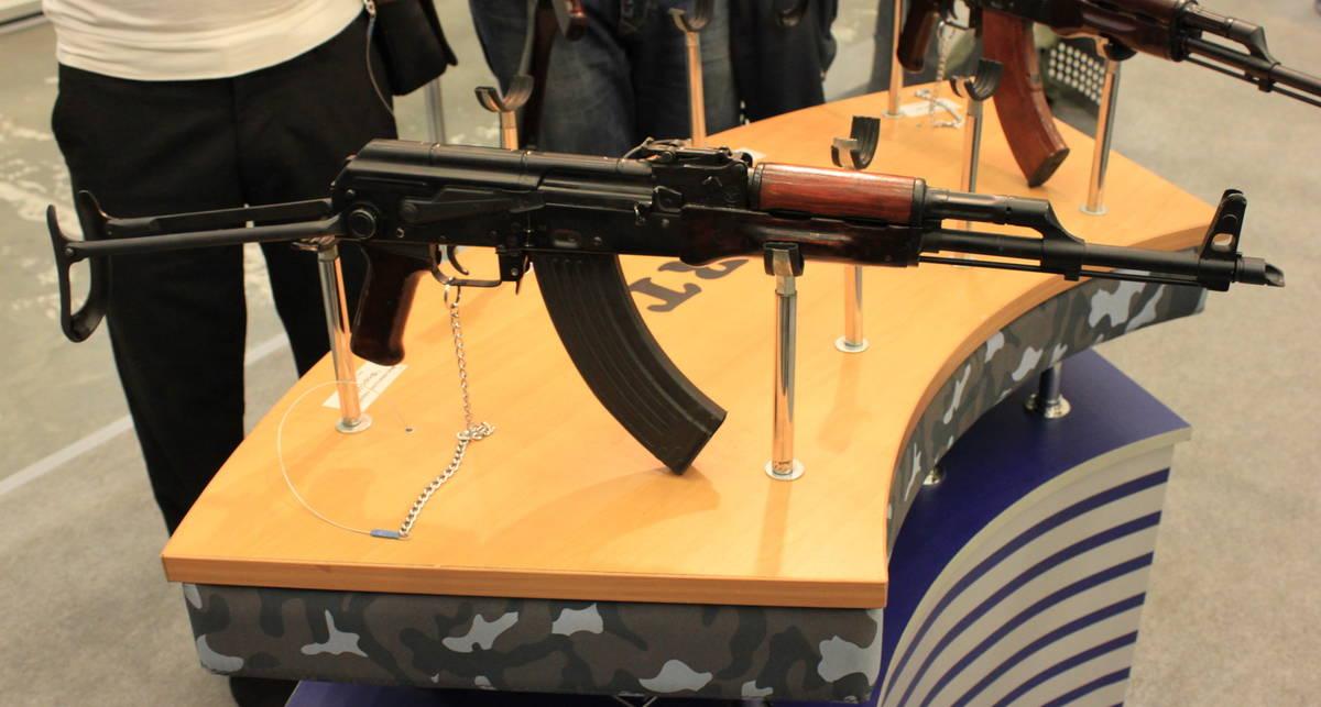 Выставка оружия-2012: Киев показывает стволы