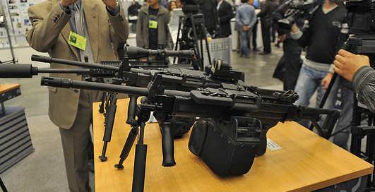 Оружие и безопасность-2012: огнестрельное оружие