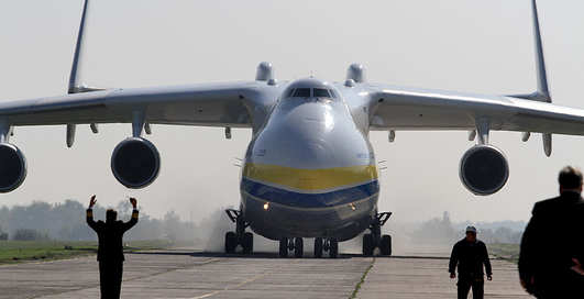 Авиасвит-2012: под Киевом летали гиганты