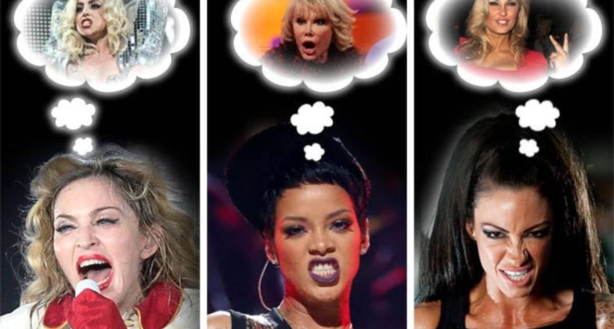 Секси-скандалистки: восемь страшно поругавшихся звезд