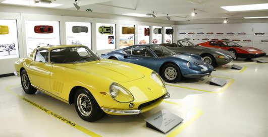 Гараж мечты: самые шикарные Ferrari мира