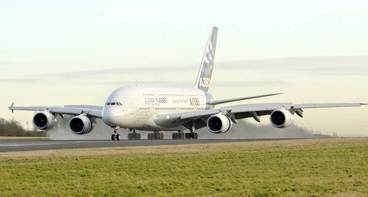Летающий дворец: крутой А380 для принца