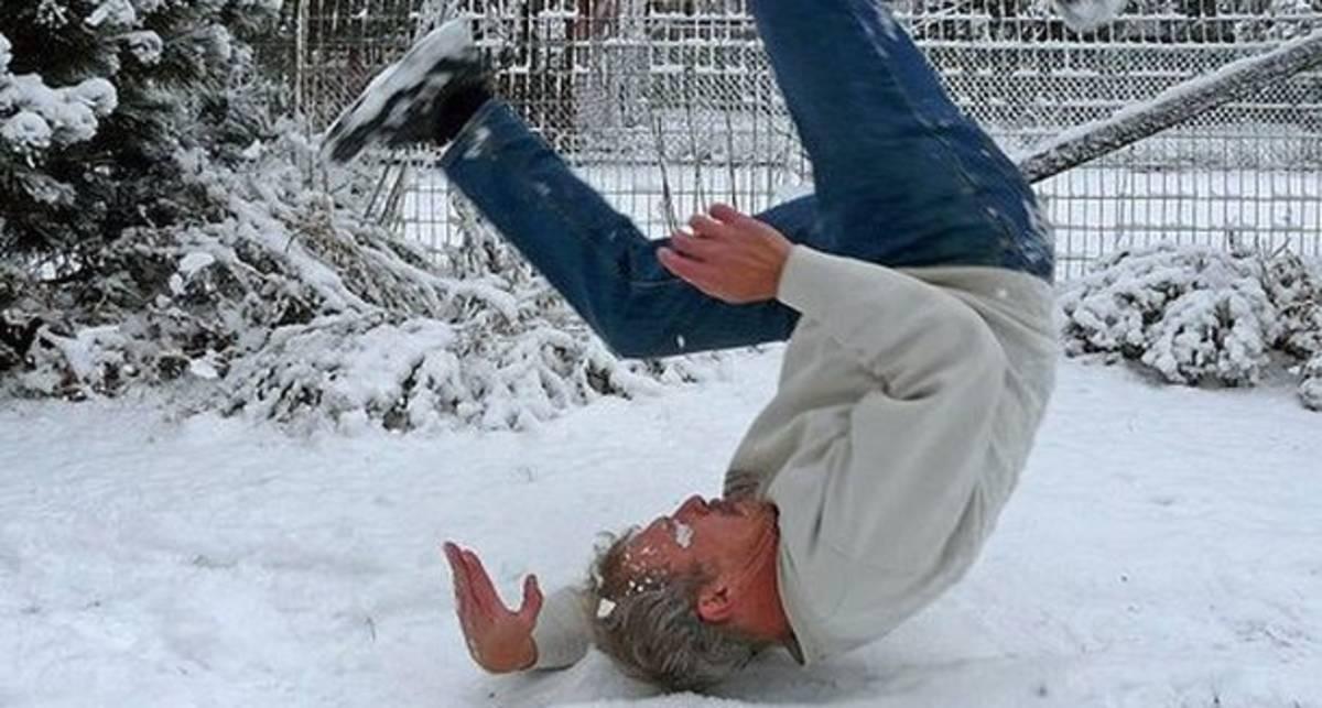Как не упасть на льду: будь стойким парнем