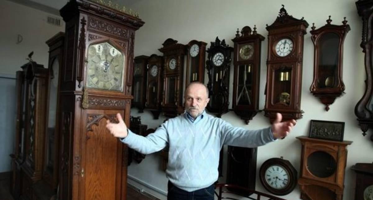 Самая крутая коллекция часов - в Киеве