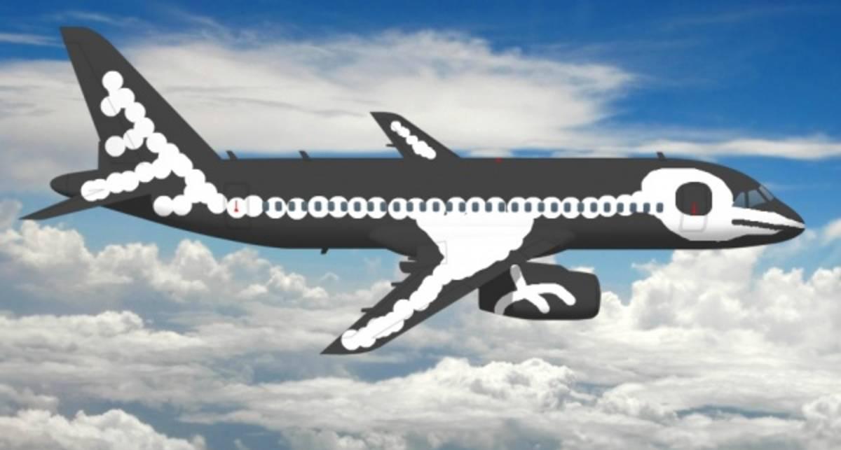 Раскрашенные самолеты: креатив от Аэрофлота