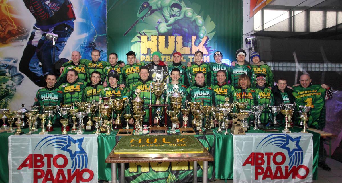 HULK – пейнтбольная команда-именинница