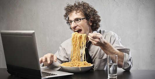 Обед в офисе: как не толстеть на работе