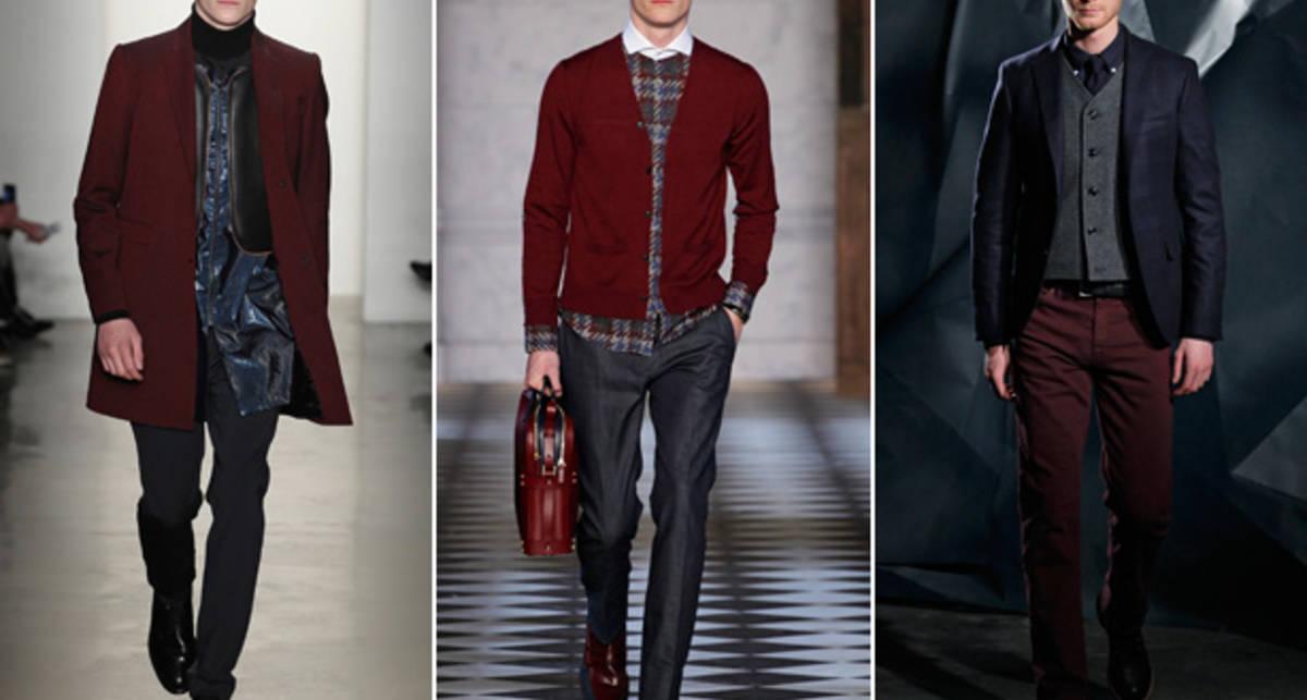 Мода-2013: пять цветов мужской одежды
