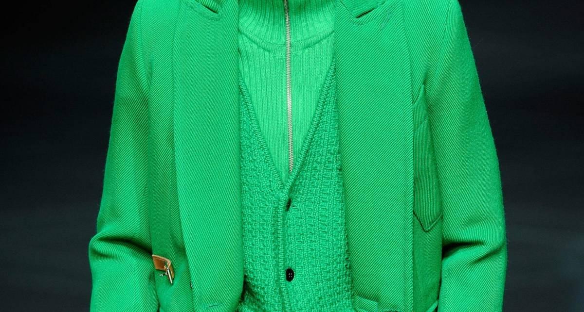Оденься зелено: ТОП-5 модных оттенков весны-2013