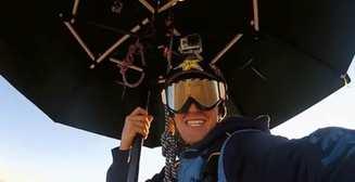 Мэри Поппинс по-мужски: зонтик-парашют