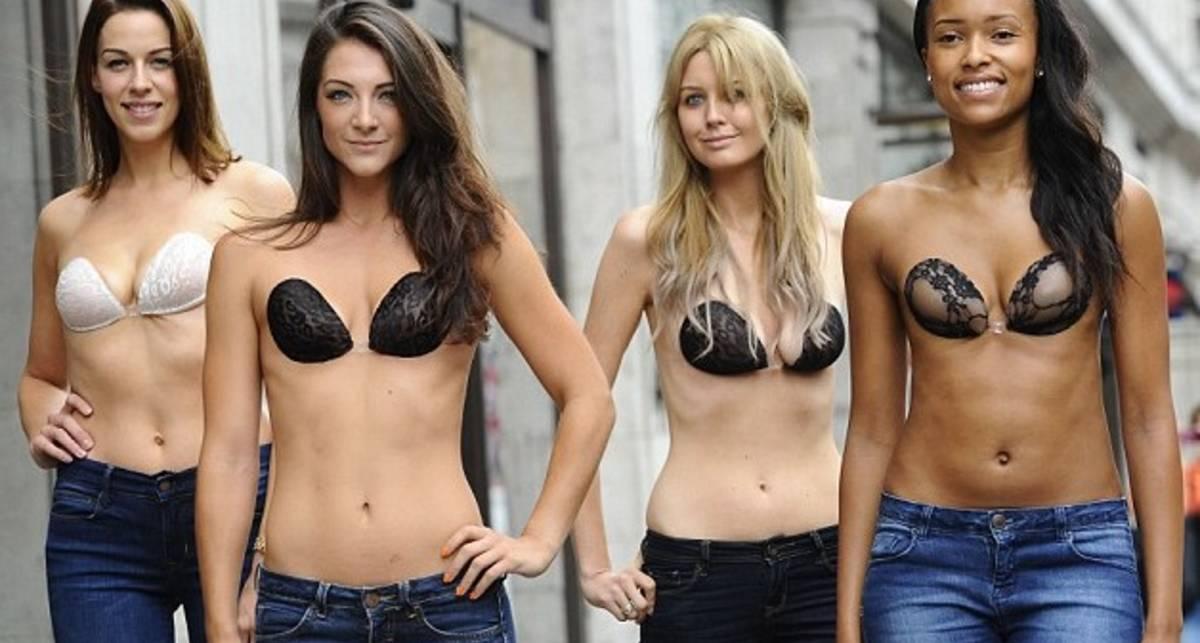 Лифчики-пенсне: как прячут грудь британские модели
