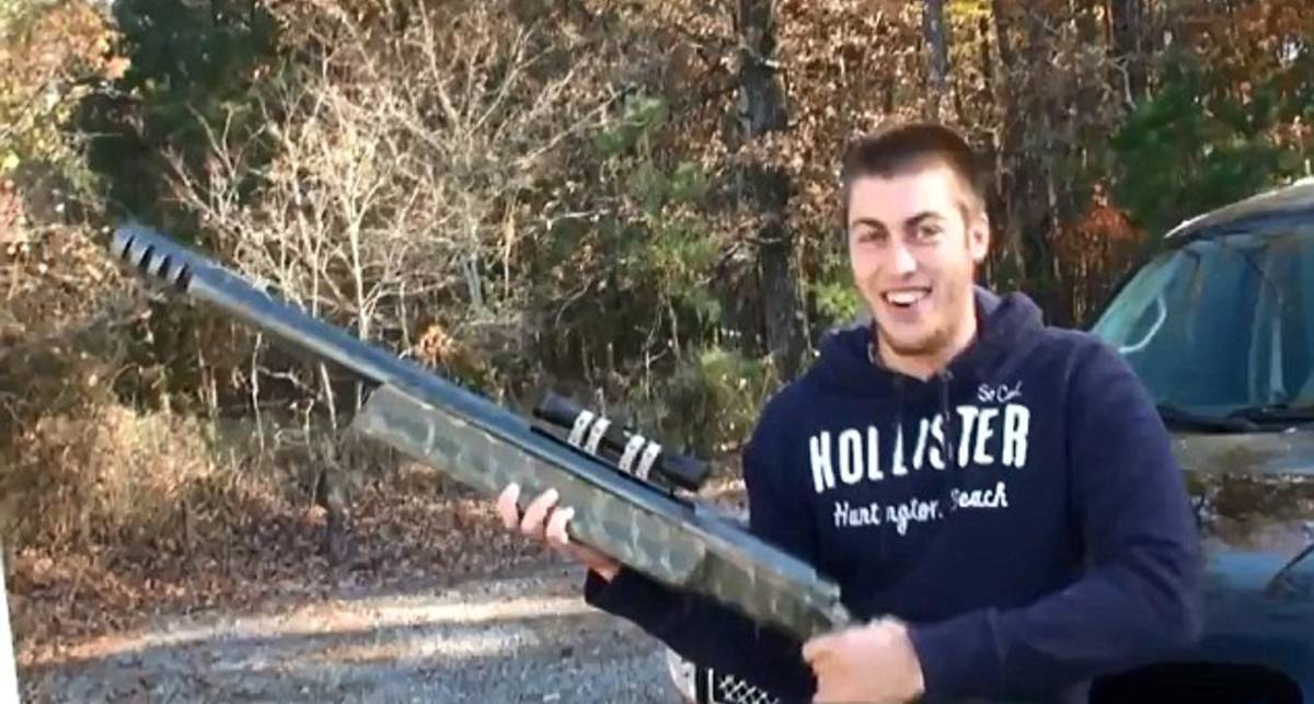 Рвет в клочья: самая большая винтовка в мире