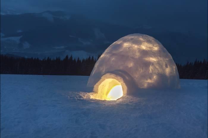 Люди, живущие в Арктике, способны легко переносить низкие температуры