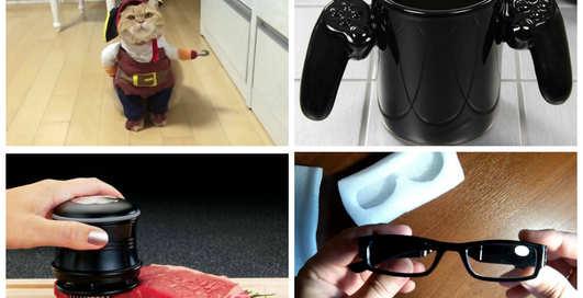 Костюм пирата для кота и кружка-джойстик для геймеров: ТОП-5 товаров из Китая