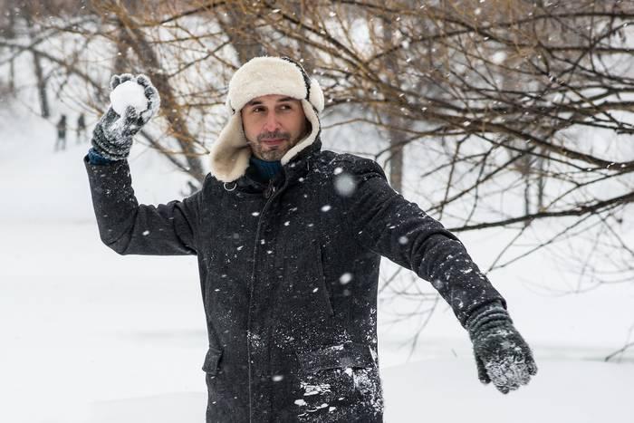 Игра в снежки - хороший спорт