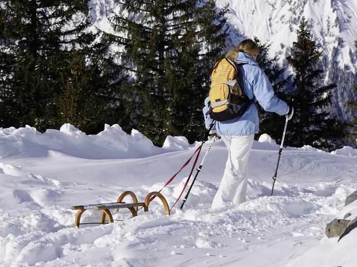 Ходьба по снегу действует лучше, чем по песку