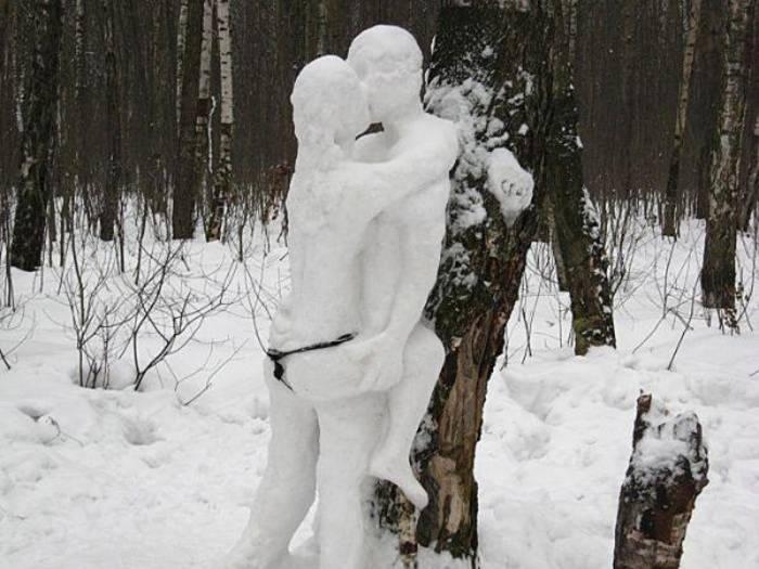 Снеговики разные могут быть