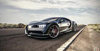 Гиперкар Bugatti Chiron разогнали до 420 км/ч: Эффектное видео