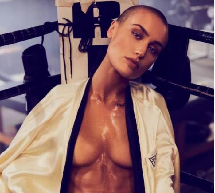 Бунтарка-модель Вендела Линдблом