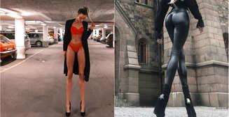 Красотка дня: длинноногая фитнес-модель Ия Остергрен