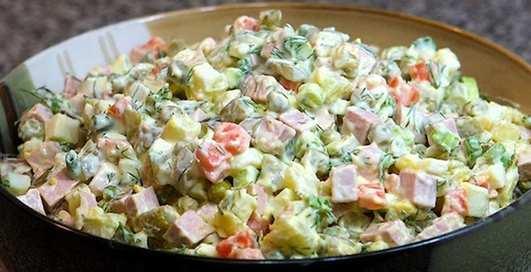 Какой срок годности у новогодних салатов?