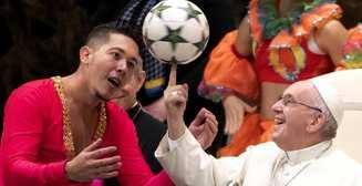 Баскетбольная лига ждет его: Папа Римский показал трюк с мячом