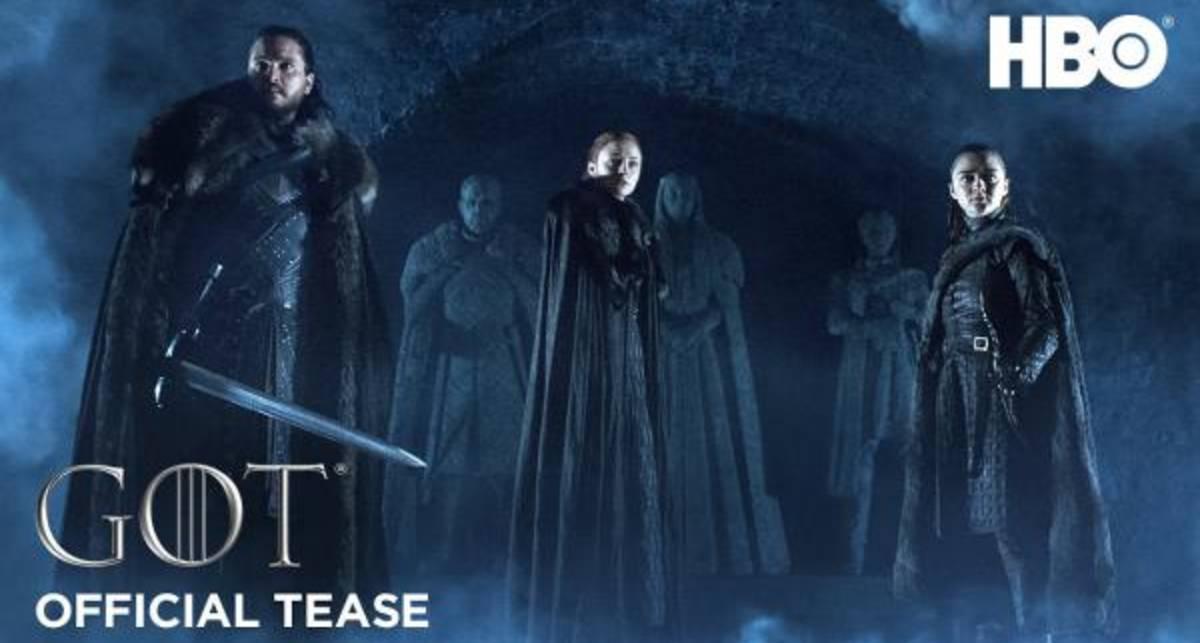 Винтерфелл и Белые Ходоки: HBO показала тизер